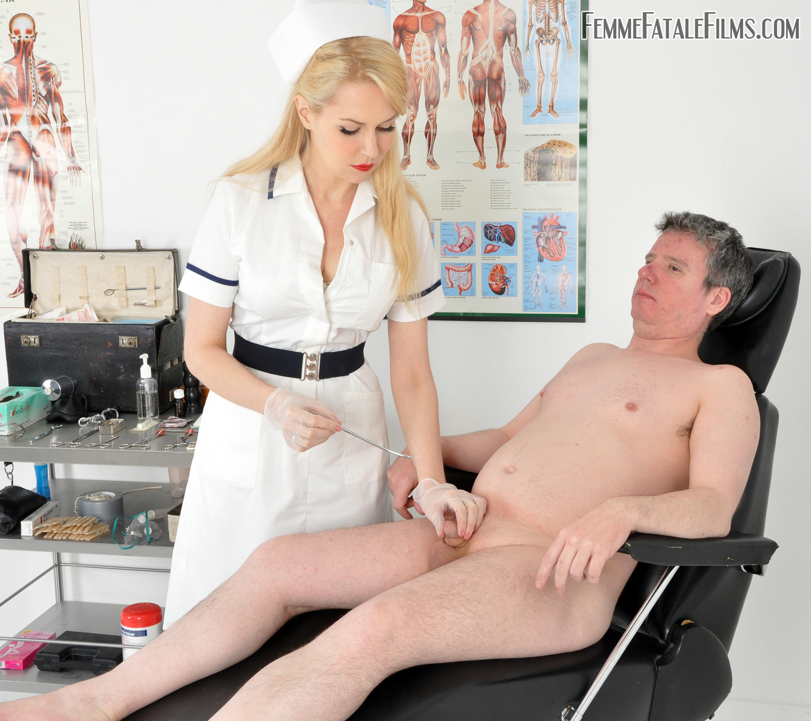 medical bondage and spanking
