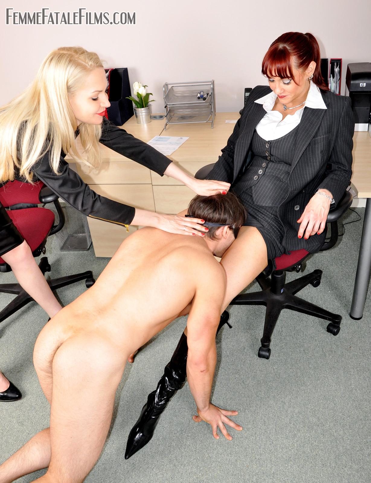 Порно В Офисе Доменирование
