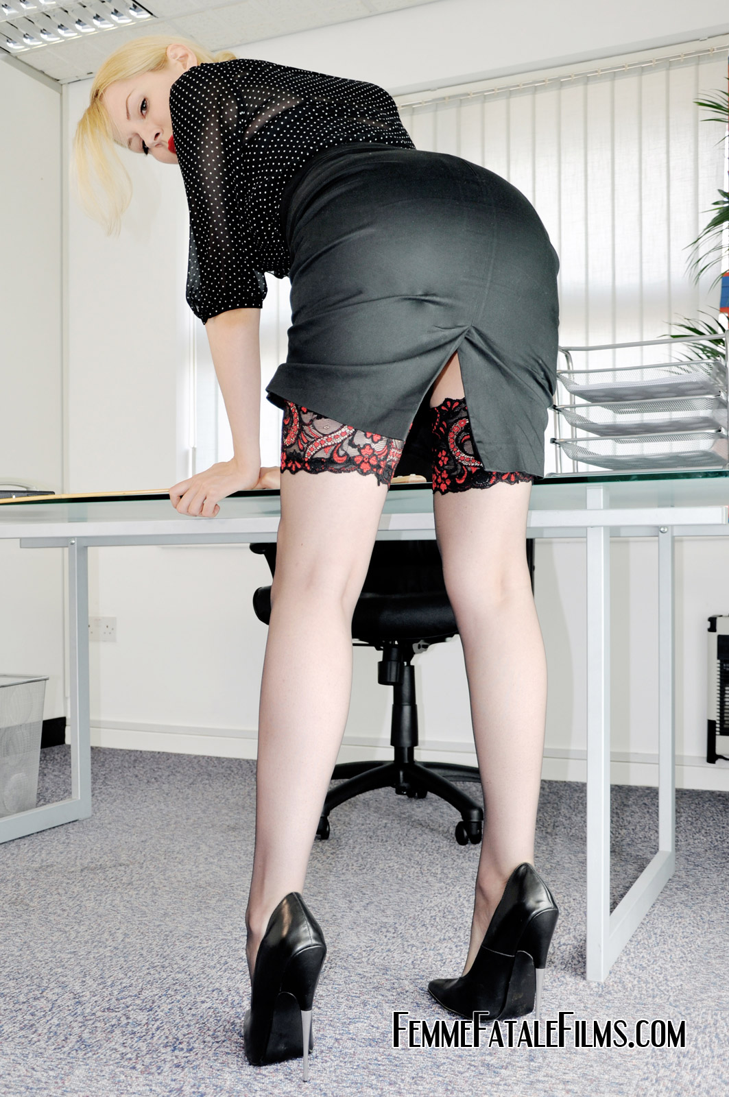 Office femdom who is boss now 2