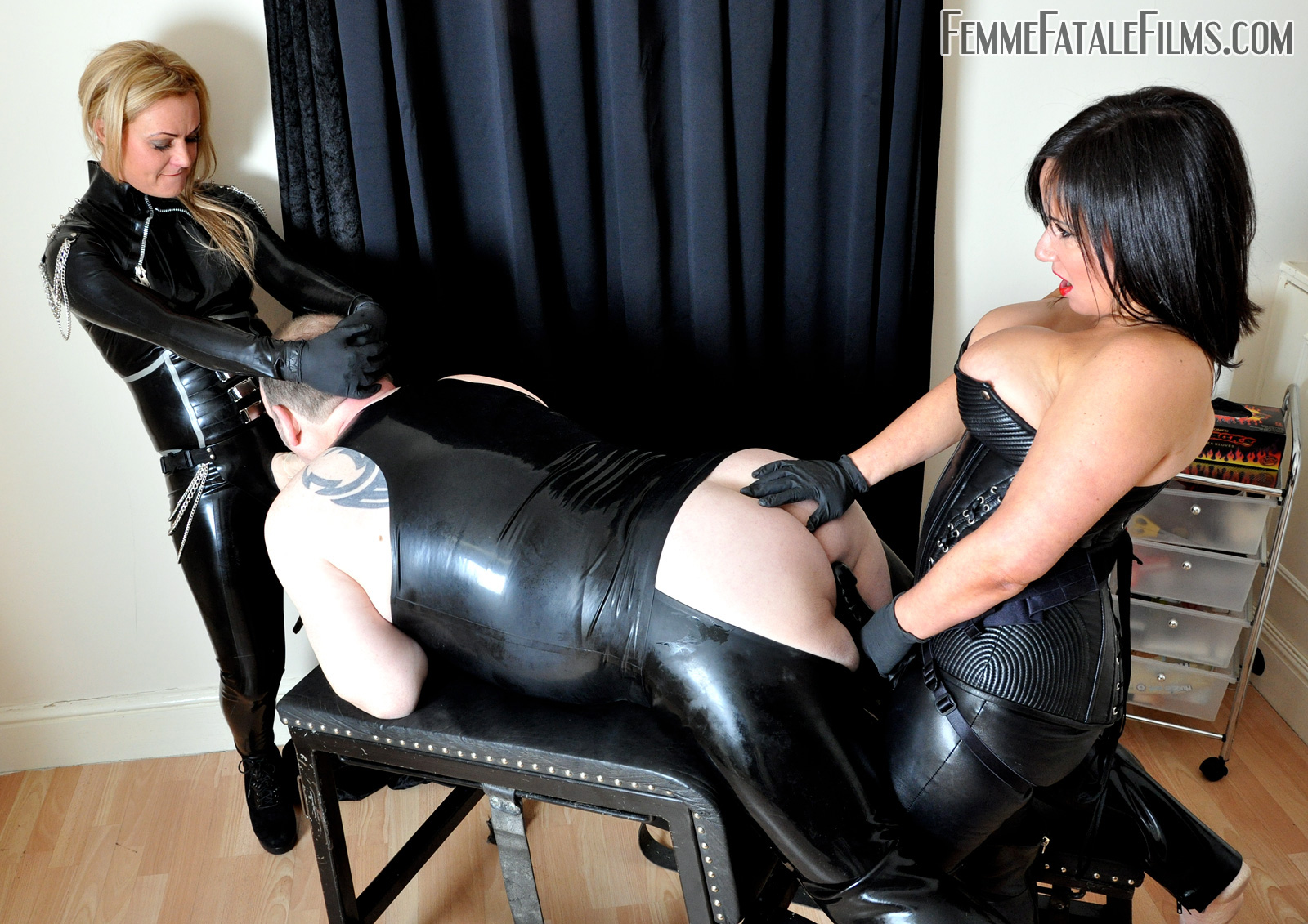 Sexy ass bdsm leather tgp slave gets [censored]d