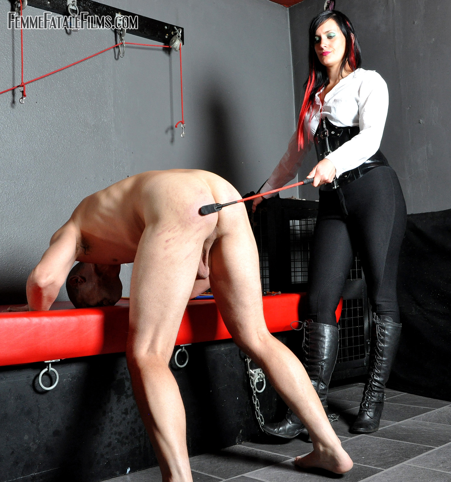 Femdom slave contract smoking domination
