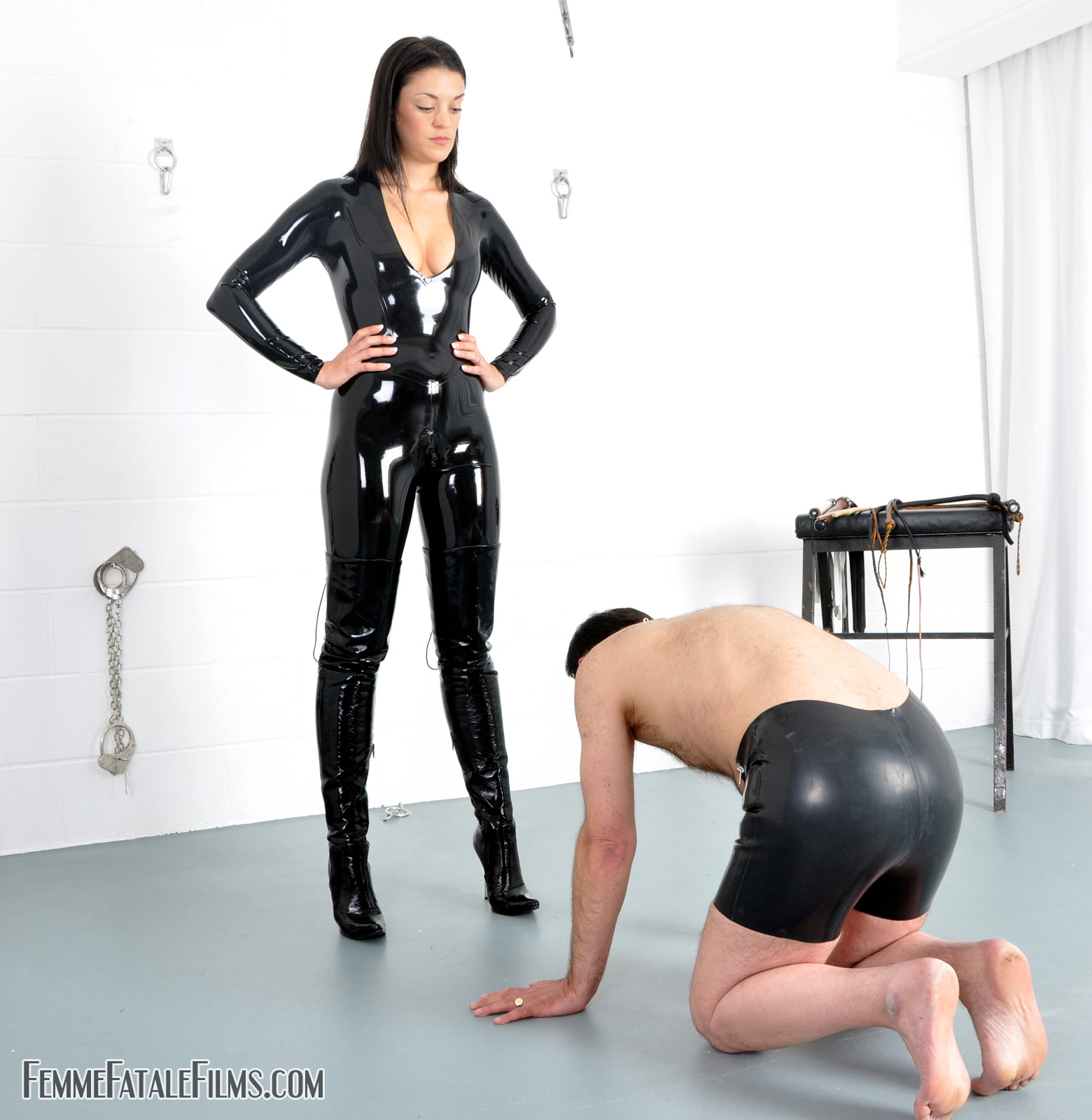 How domination mistress porn would