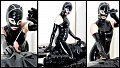 Femdom - Oiled In Latex - June, 2016 - Lady Mia / Mummification / Latex / Sounds