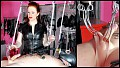 Femdom - Strapped Down - Lady Renee- CBT- Spitting- Nipple Torment